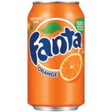 Can Fanta Orange 33cl